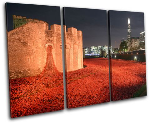 Tower of London Poppies City - 13-2234(00B)-TR32-LO
